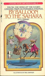 By Balloon to the Sahara cover