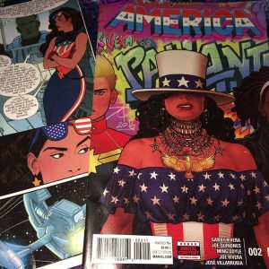 Cover of America 2 comic book
