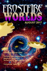 Cover art for August 2017 Frostfire Worlds