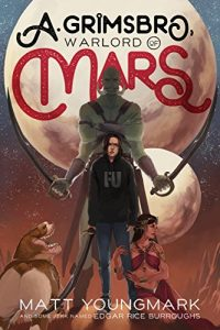 Cover art for A. Grimsboro, Warlord of Mars