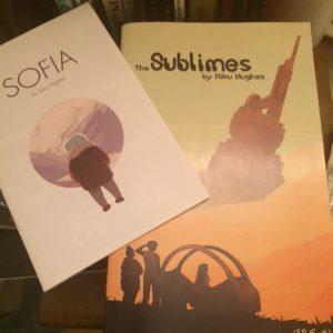 Cover art for The Sublimes issue 1 and Sofia