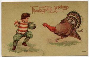 Thanksgiving greeting card from 1900