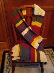 The Fourth Doctor's scarf
