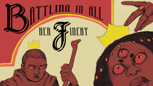 Partial cover art for Battling in All Her Finery