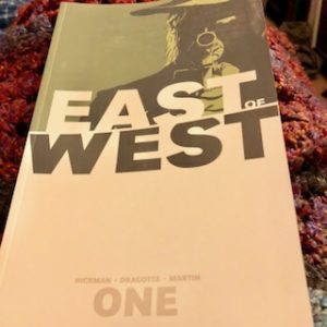 Cover art for East of West Volume 1