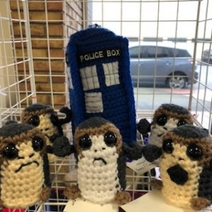 The porgs have the phone box