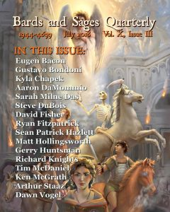 Cover art for July 2018 Bards and Sages Quarterly