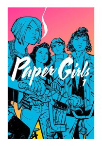 Cover art for Paper Girls Vol. 1