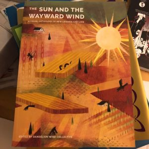 Cover art for The Sun and the Wayward Wind