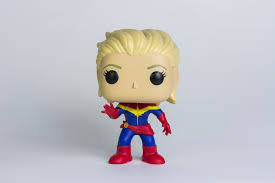 Funko Pop of Captain Marvel