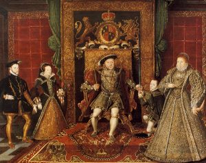 Painting of the Tudors